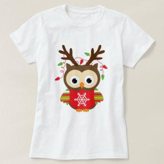 Christmas Owl T-shirts