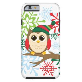 Christmas owl tough iPhone 6 case