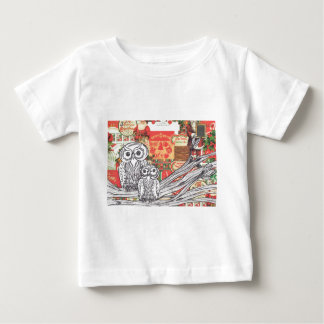 Christmas Owls 2 Baby T-Shirt
