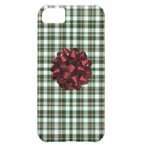 Christmas package red bow iPhone 5C case