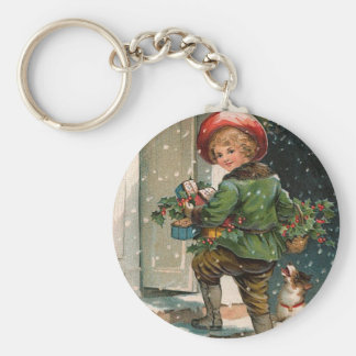 Christmas Packages Keychain
