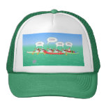 Christmas Paddle Trucker Hat