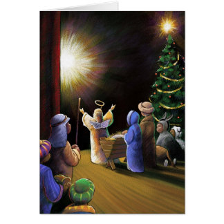 Christmas Pageant Greeting Cards
