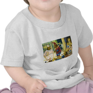 Christmas Pageant in Animal Land Tee Shirts