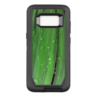 Christmas Palm and Raindrops OtterBox Defender Samsung Galaxy S8 Case