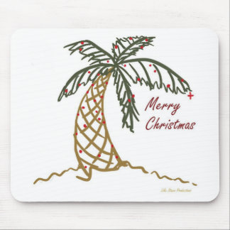 Christmas Palm Mouse Pad