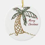 Christmas Palm Ornaments