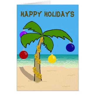 Christmas Palm Tree Card