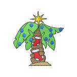 Christmas Palm Tree Polo