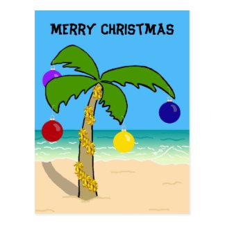 Christmas Palm Tree Postcards