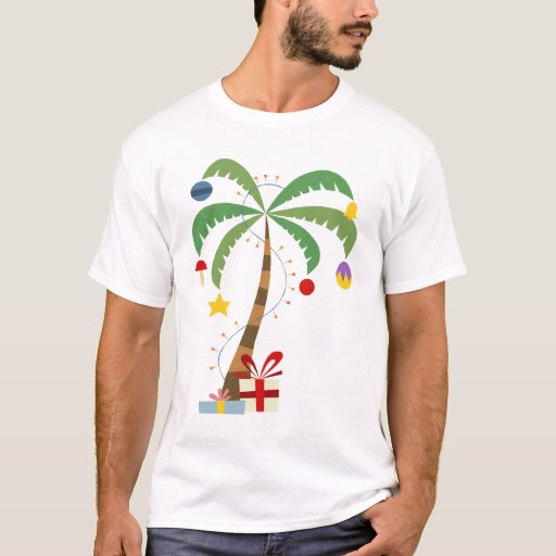 Christmas Palm Tree Shirt | Zazzle