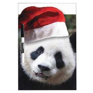 Christmas Panda Bear Dry-Erase Whiteboards