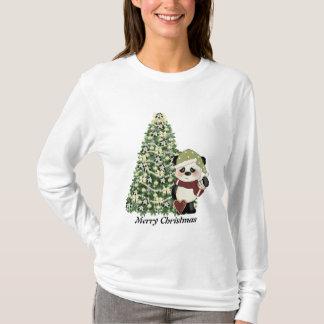 Christmas Panda Bear t-shirt