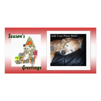 Christmas Panda Picture Card