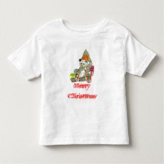 Christmas Panda Toddler T-shirt