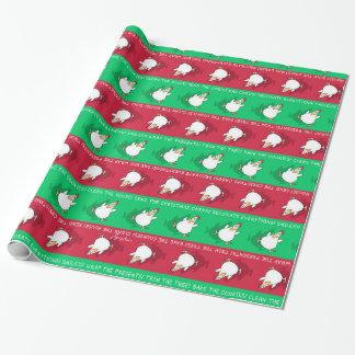 CHRISTMAS PANIC CHICKEN by Sandra Boynton Wrapping Paper
