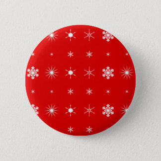 Christmas Paper Background Pinback Button