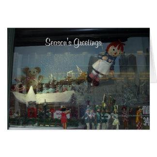 Christmas Parade Santa Card