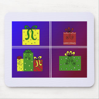 Christmas Parcels Mouse Pad