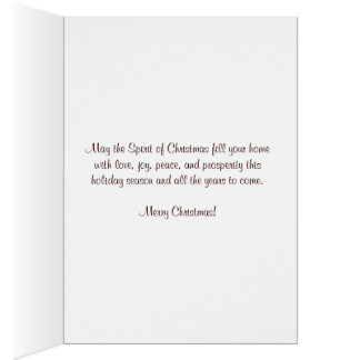 Christmas Parol Card
