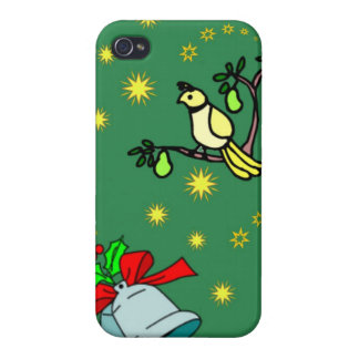 Christmas, Partridge and Drums iPhone 4/4S Cases