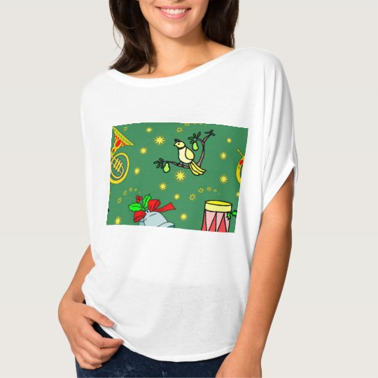 Christmas, Partridge and Drums T-Shirt