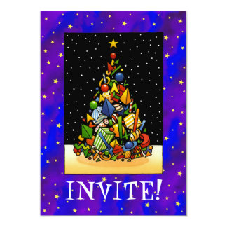 Christmas Party 5x7 Paper Invitation Card