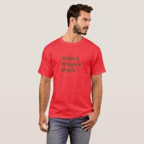 Christmas Party Ampersand, Jingle, Kringle & Ming T-Shirt