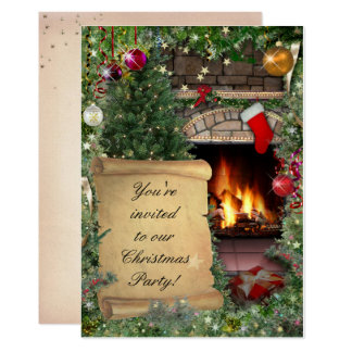 Christmas Party Card