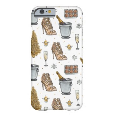 Christmas Party Barely There iPhone 6 Case