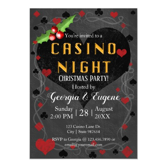 Christmas Party Casino Night | Las
