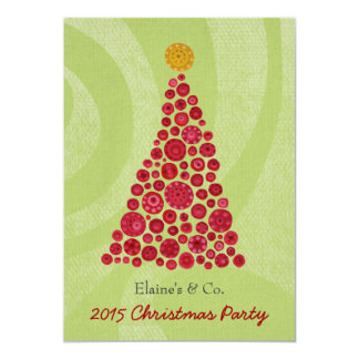 Christmas Party Corporate Work Business Function 5x7 Paper Invitation Card