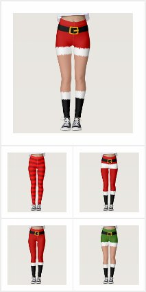 Christmas Party Costume Leggings