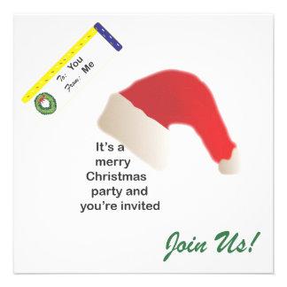 Christmas Party Custom Invites