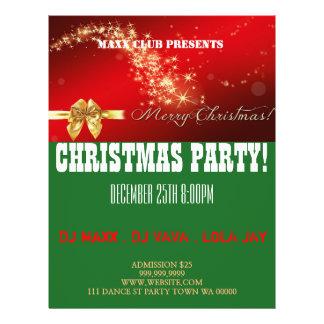 Christmas Party Event Announcement DJ CLUB Flyer