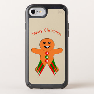 Christmas Party Gingerbread Man Phone Case