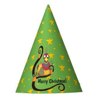 """Christmas Party Hat """"Partridge in a Pear Tree"""""""