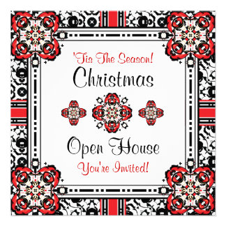 Christmas Party Holiday Open House Invitations