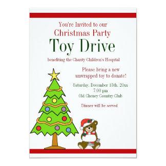 toy drive invitations announcements zazzle. Black Bedroom Furniture Sets. Home Design Ideas