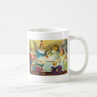 Christmas Party in Animal Land Coffee Mug