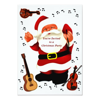 Christmas Party_ 5x7 Paper Invitation Card