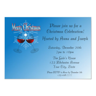 Christmas party announcements