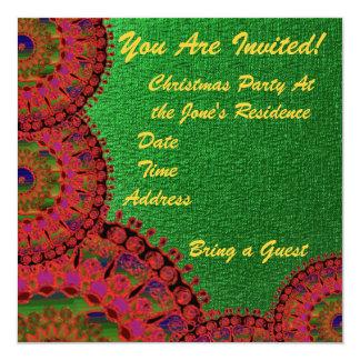 Christmas Party Invitation 5 x 5