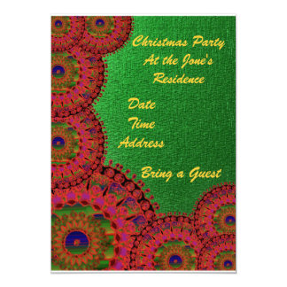 Christmas Party Invitation 5 x 7