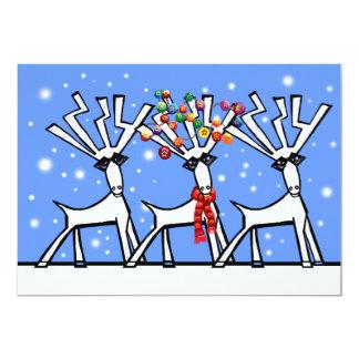 "Christmas party invitation 5"" x 7"" invitation card"