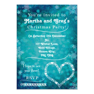 Christmas Party Invitation Fully Customisable