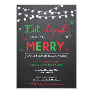 christmas party invitations  zazzle, Party invitations