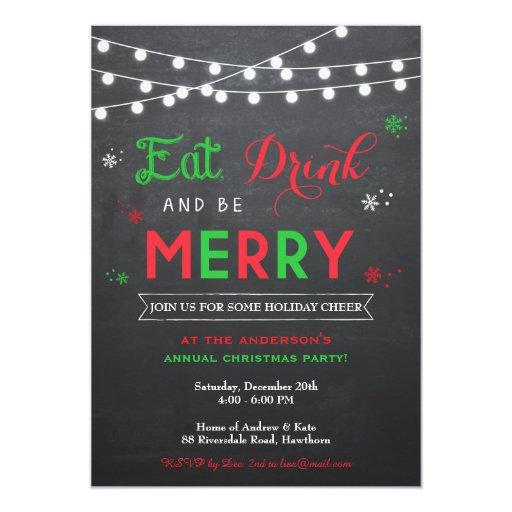 Christmas Party Invitation / Holiday...