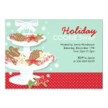 Christmas Party Invitations Cookie Swap