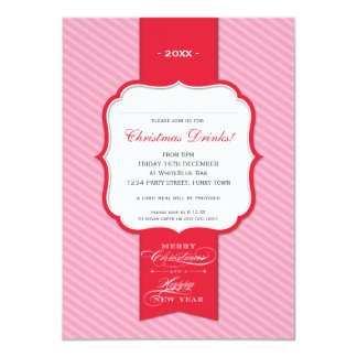CHRISTMAS PARTY INVITATIONS :: lapel 1P